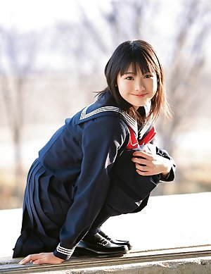 Nude Asian Schoolgirl