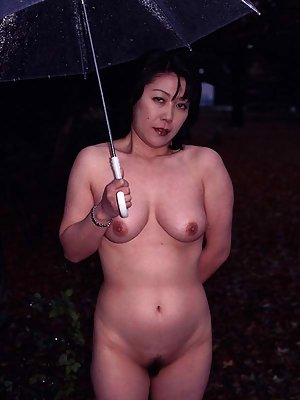 Nude Asian Outdoor