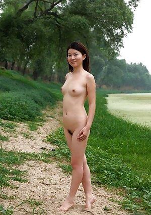 Nude Asian Outdoor