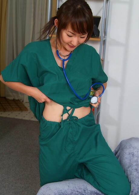 Nude Asian Nurse
